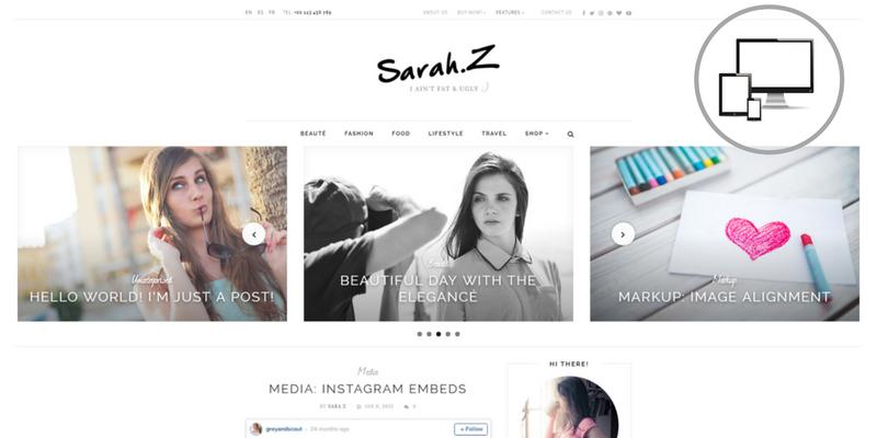 tema premium elegance per blog di moda, come creare un blog di moda, quale tema scegliere per un blog di moda