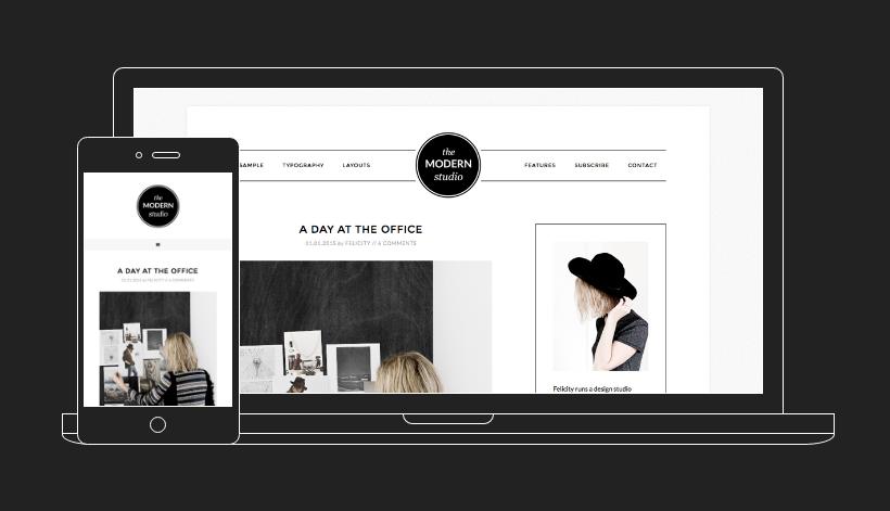 tema premium modern studio pro per blog di moda, come creare un blog di moda