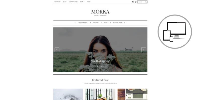tema premium mokka per blog di moda, come creare un blog di moda, quale tema scegliere per un blog di moda