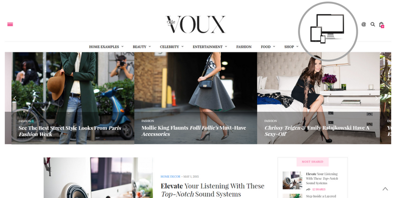 tema premium the voux per blog di moda, come creare un blog di moda, quale tema scegliere per un blog di moda